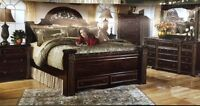 BLOWOUT SALE ON BRAND NEW ASHLEY BEDROOM SETS