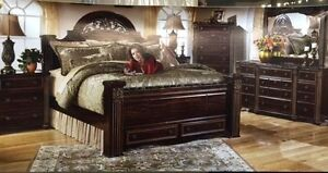 SALE ON BRAND NEW ASHLEY BEDROOM SET WITH FREE TABLET