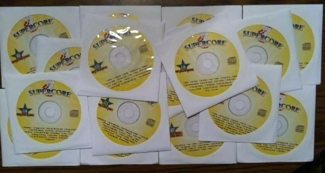 16 CDG DISCS SUPERCORE KARAOKE MUSIC COUNTRY ROCK CD+G MUSIC CD SONGS OLDIES