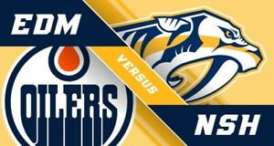 Oilers VS Nashville tickets