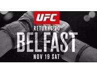 UFC BELFAST TICKET (floor seat beside ring)