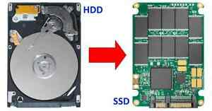 HDD SSD upgrade, 2-5x faster PC/Mac in Toronto - only $99