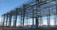 Radical Steel Buildings, Construction and Concrete