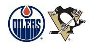 Edmonton Oilers Tickets vs. Pittsburgh Penguins - Friday Nov. 6