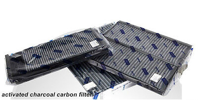 Charcoal activated cabin air filter for Renault Fluence 2pack NEW!