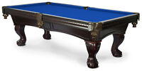 POOL TABLES  COIN OPERATED  AND HOME MODELS ALSO