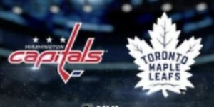 TORONTO MAPLE LEAFS WASHINGTON CAPITALS WED JANUARY 23 & OTHERS