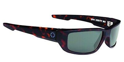 SPY optic Dirty MO Sunglasses MATTE CAMO TORT - HAPPY GRAY GREEN670937995863 *