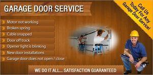 GARAGE DOOR SERVICE/587/329/9571/25$ service call