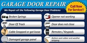 Residential Garage Door Repairs - Contact for Great Prices London Ontario image 1