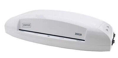 Staples 9.5 Thermal Cold Laminating Machine 17466 New