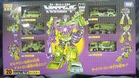 Transformers G1 ENCORE Devastator Soundblaster Megatron Takara
