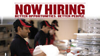 NOW HIRING! ALL POSITIONS AVAILABLE!
