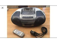 Panasonic RX-D29 Stereo Radio/CD/MP3/Cassette player incl Remote Control