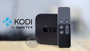 BNIB_Apple Tv4 / 64gb_Loaded KODI 17_Watch Free Movies_TV Shows+