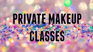 --> PRIVATE PROFESSIONAL MAKEUP/BEAUTY CLASSES <--
