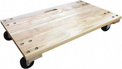 Glide Maxx 1,000 Lbs. Load Limit Hardwood/Polyolefin Solid Top Dolly 36 Inche...