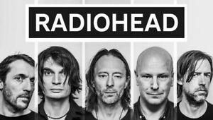 Radiohead billets (Rouge et Club)