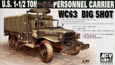 AFV Club AF35S18 1/35 U.S. 1-1/2 Ton Personnel Carrier WC63 Big Shot