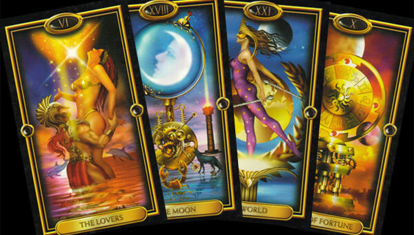 A modern, computer-rendered version of the Tarot.