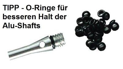 Kleiner O-ring (O-Ringe 6 mm Kleingewinde 2ba Gummi Ringe für Alu Schaft)