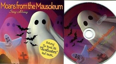 HALLOWEEN CD - MOANS FROM THE MAUSOLEUM SING-ALONG HALLOWEEN CD - Halloween Sing Along Cd