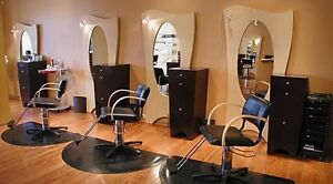 Looking for salon furniture.