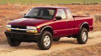 2003-2005 blazer, jimmy, s10 4x4