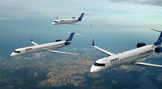 Aircraft Airplane seat CRJ Bombardier
