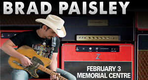 Brad Paisley - Section 11 Row C - 2 TICKETS