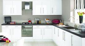 Brand New White Gloss Kitchen For Sale