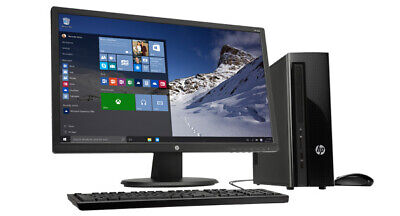 "i5 Quad Core DESKTOP PC + 19"" TFT Full Computer Setup 8GB 500GB HDD WINDOWS 10"