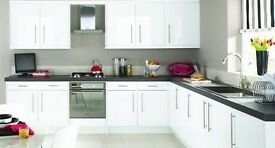 Complete White Gloss Kitchen For Sale