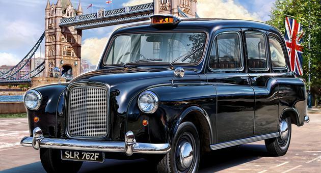 London Taxi, Revell Car Model Kit 1:24, 07093, neworiginal packaging