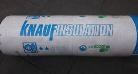 Knauf Loftroll 44 Earthwool Insulation 170mm thick / 4.9m2 (2 rolls available)