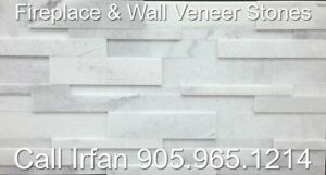 Carrera Fireplace Veneer Stone Ledger Wall Decoration Stone