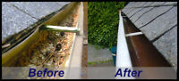 Save now! eavestrough cleanings and minor repairs
