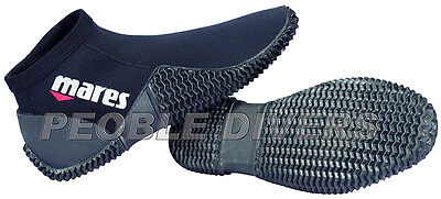 Mares Equator Dive Boot 2 mm Ankle Boot or Beach light weight neoprene Low top  Lightweight Boot Top