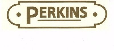Perkins Decal 4 12 X 1 14 Gas Engine Motor Hit Miss Flywheel Antique