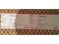 Cymande 2x tickets koko Thursday 29th Septemebr