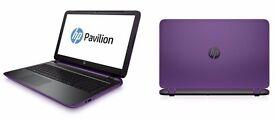 "HP Pavilion Beats Audio 15-p194na Laptop 15.6"" Intel Core i3 6GB RAM 1TB HDD Win 10"