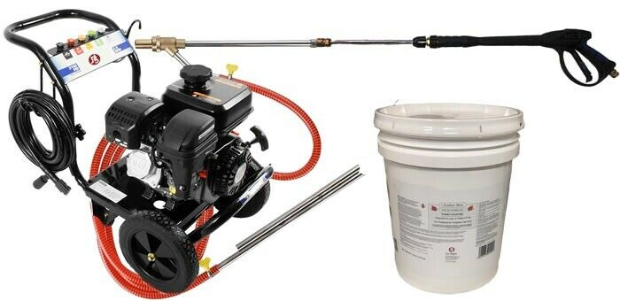 Home Wildfire Defense Pressure Washer Ember Bloc Fire Proof Gel Eductor System