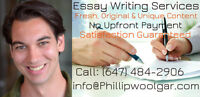 Trustworthy Essay Writers Provide Professional Services