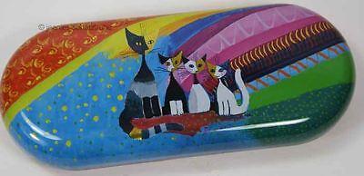 Brillenetui * Rosina Wachtmeister *  Etui für Brille * rainbow Katze Katzen