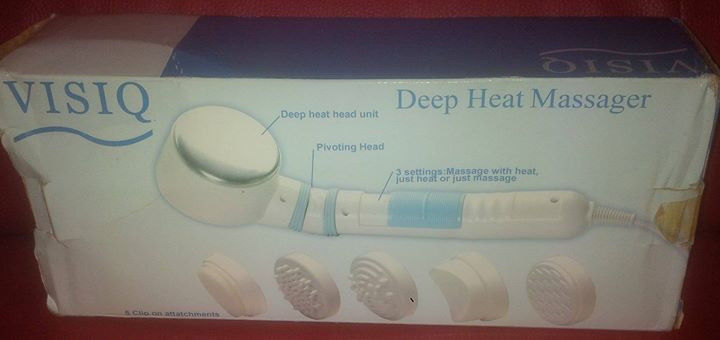 visiq deep heat massager (model-BM0077) for sale in liverpool