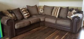 Scs Corner Suite And 3 Seater Sofa From Non Smoking Home, In Good Condition