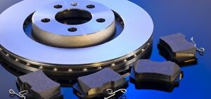 Brand New Ceramic Brake Pads & Coated Rust Proof Rotors