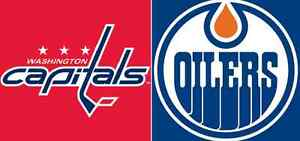 Oilers v Capitals - Wednesday October 26