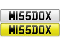 Cherished Number Plate M155DOX For Sale