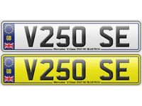 Mercedes Benz V Class V250 SE Personalised Registration Cherished Number